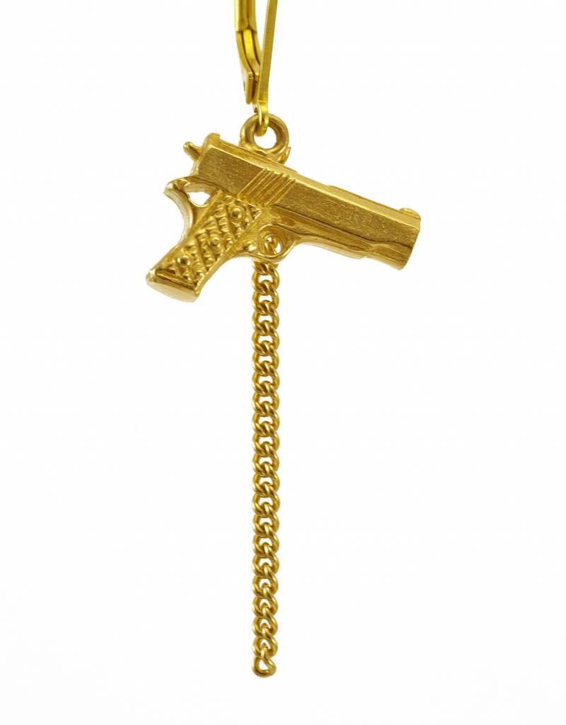 Rebels & Icons Oorbellen geweer