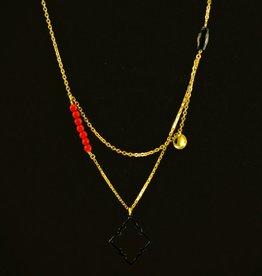 Necklace arabesque