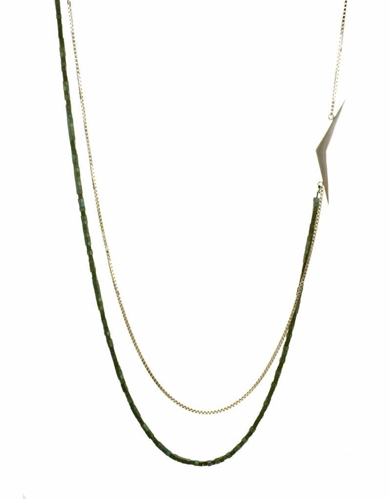 Rebels & Icons Long necklace boomerang