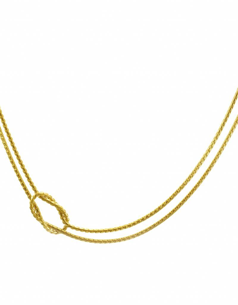 Necklace knot