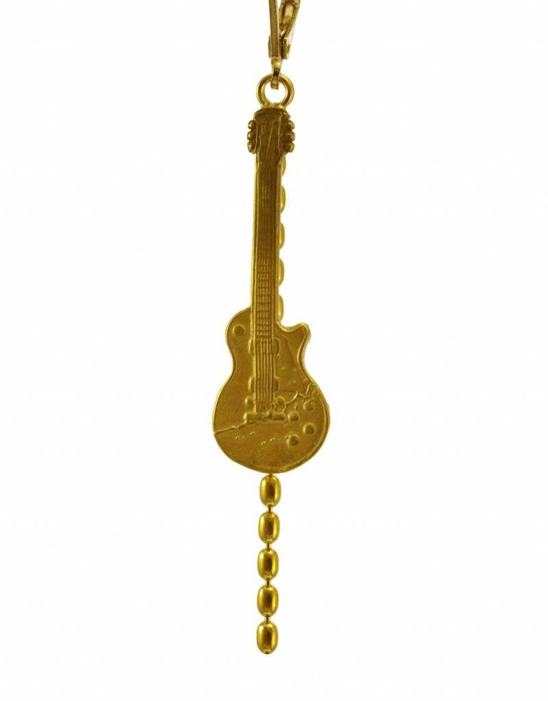 Oorbellen gitaar & bliksem