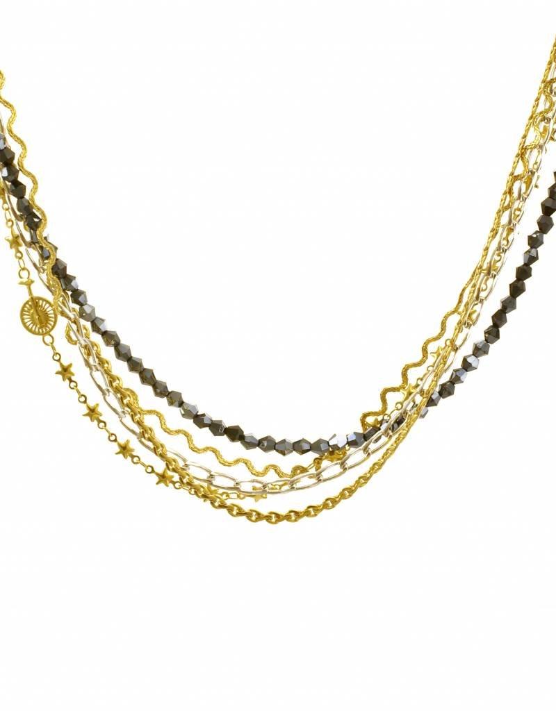 Short necklace unicicle