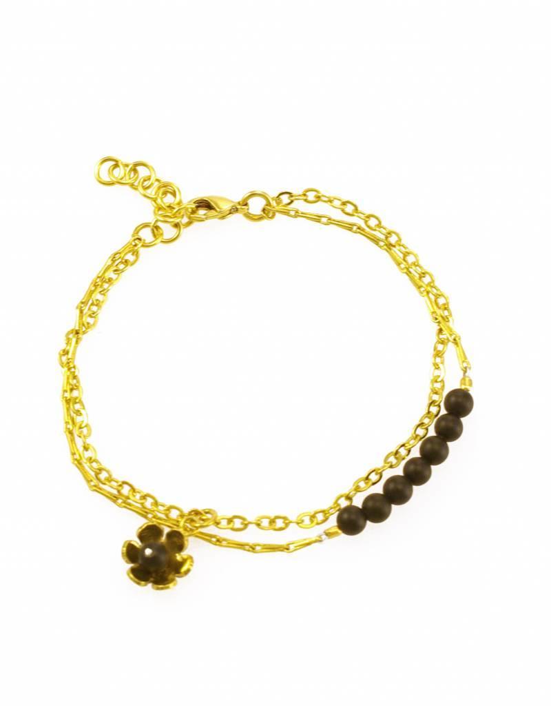Armband bloem