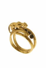 Rebels & Icons Ring tijger - goud