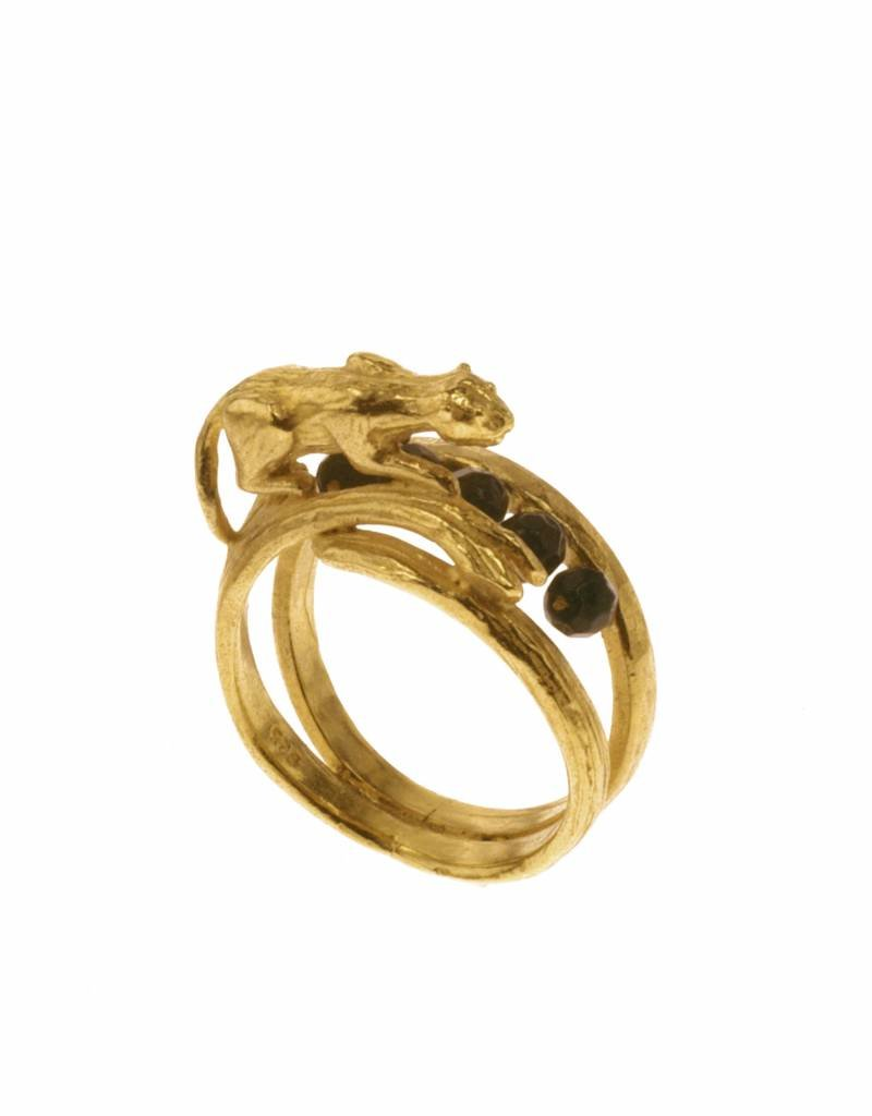 Rebels & Icons Ring tiger - gold