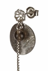 Rebels & Icons Post earrings pendant coin