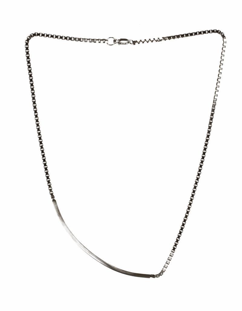 Korte halsketting staaf
