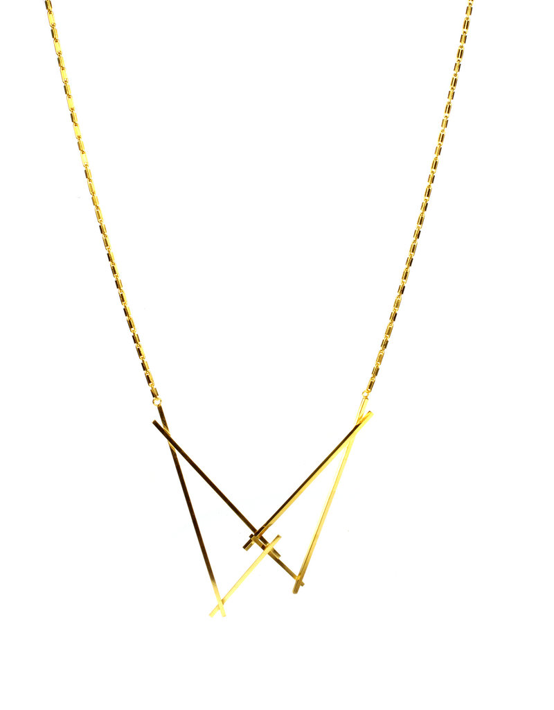 Rebels & Icons Necklace triangles