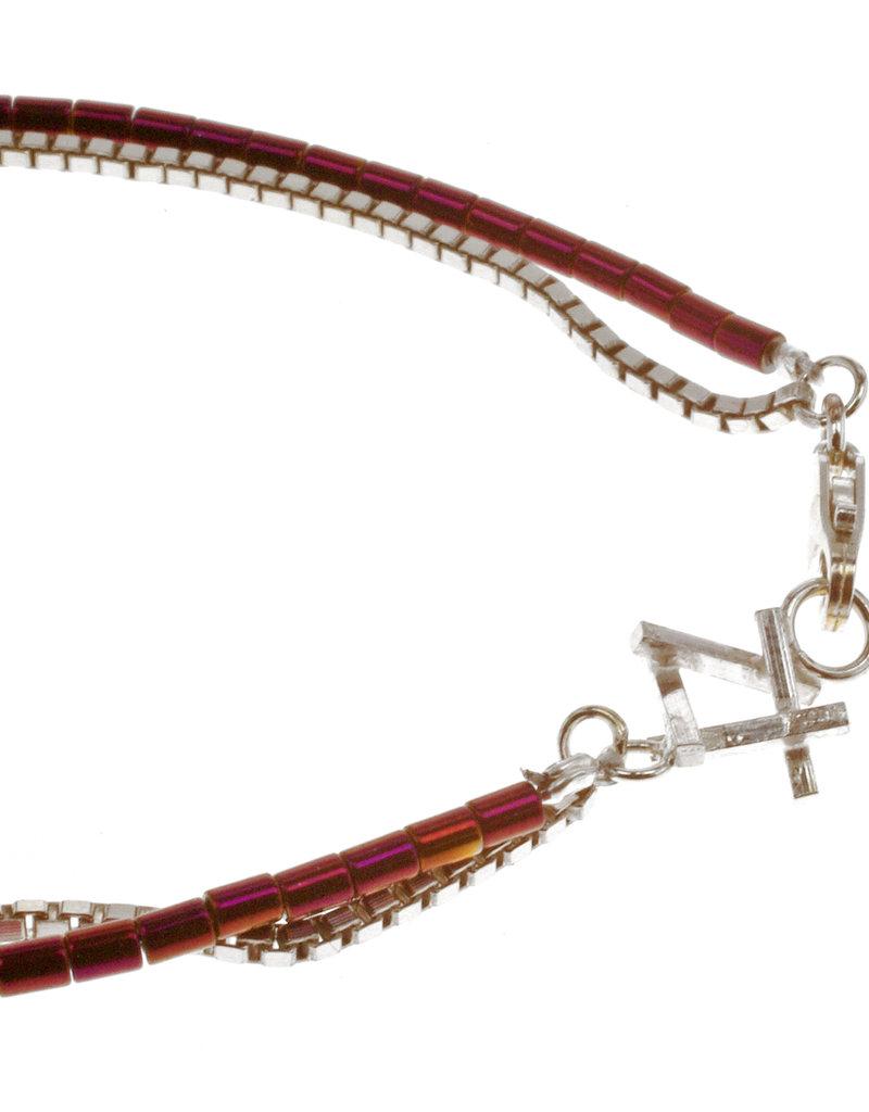 Rebels & Icons Bracelet hashtag & hematite