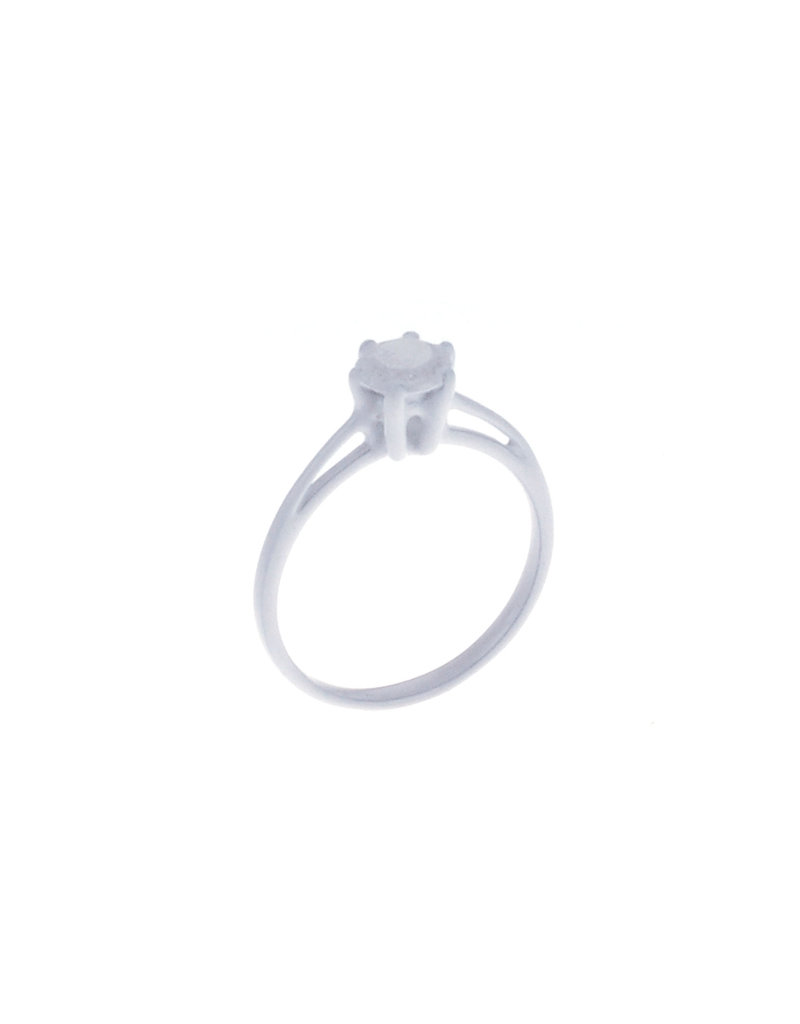 Rebels & Icons Ring solitaire - white