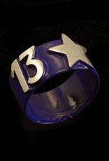 Heroes Ring Lucky Star - blauw