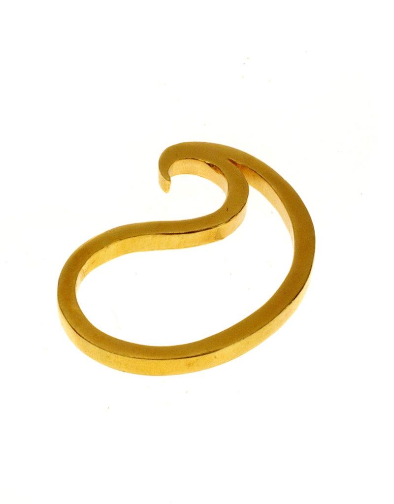 Rebels & Icons Ring paisley - verguld