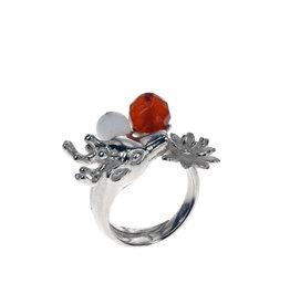 Rebels & Icons Ring rendier & 2 stenen