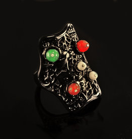 Rebels & Icons Ring 5 stenen