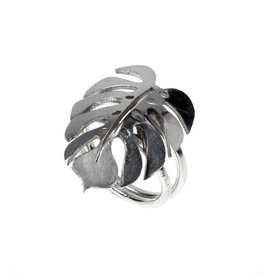 Rebels & Icons Ring Monstera leaf