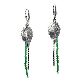 Rebels & Icons Earrings serrated leaf