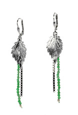 Rebels & Icons Earrings serrated leaf
