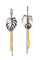 Rebels & Icons Earrings Monstera leaf