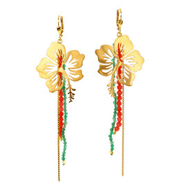 Rebels & Icons Earrings Hibiscus