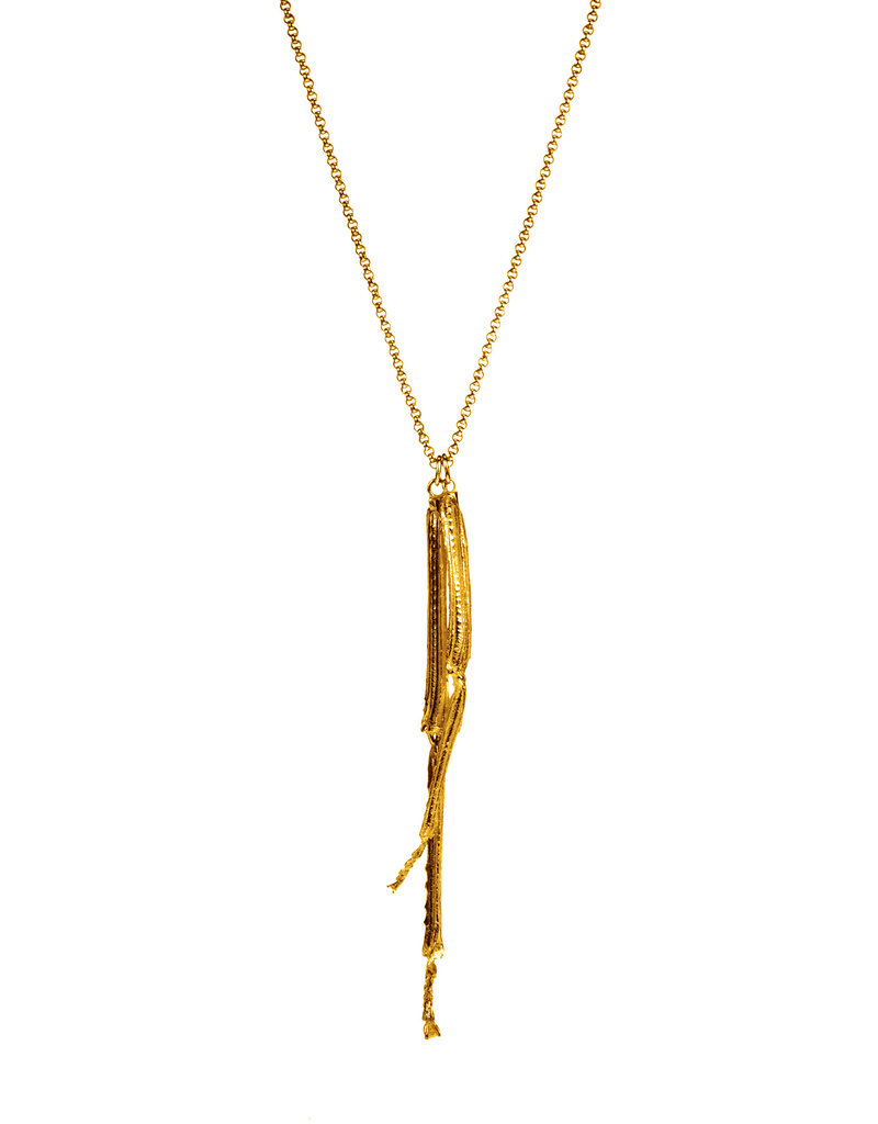 Heroes Necklace Grasshopper