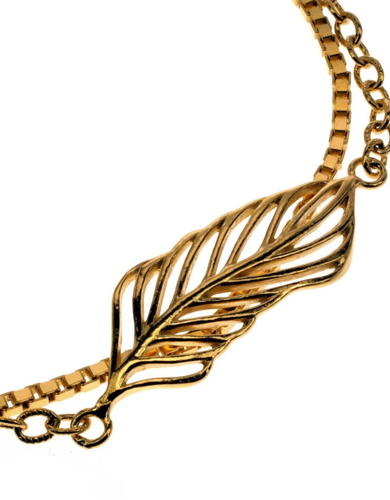 Rebels & Icons Bracelet flower & leaf