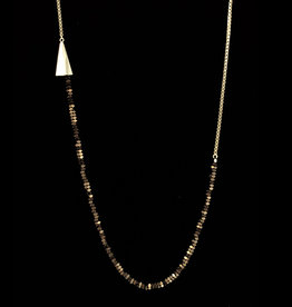Rebels & Icons Long necklace pyramid