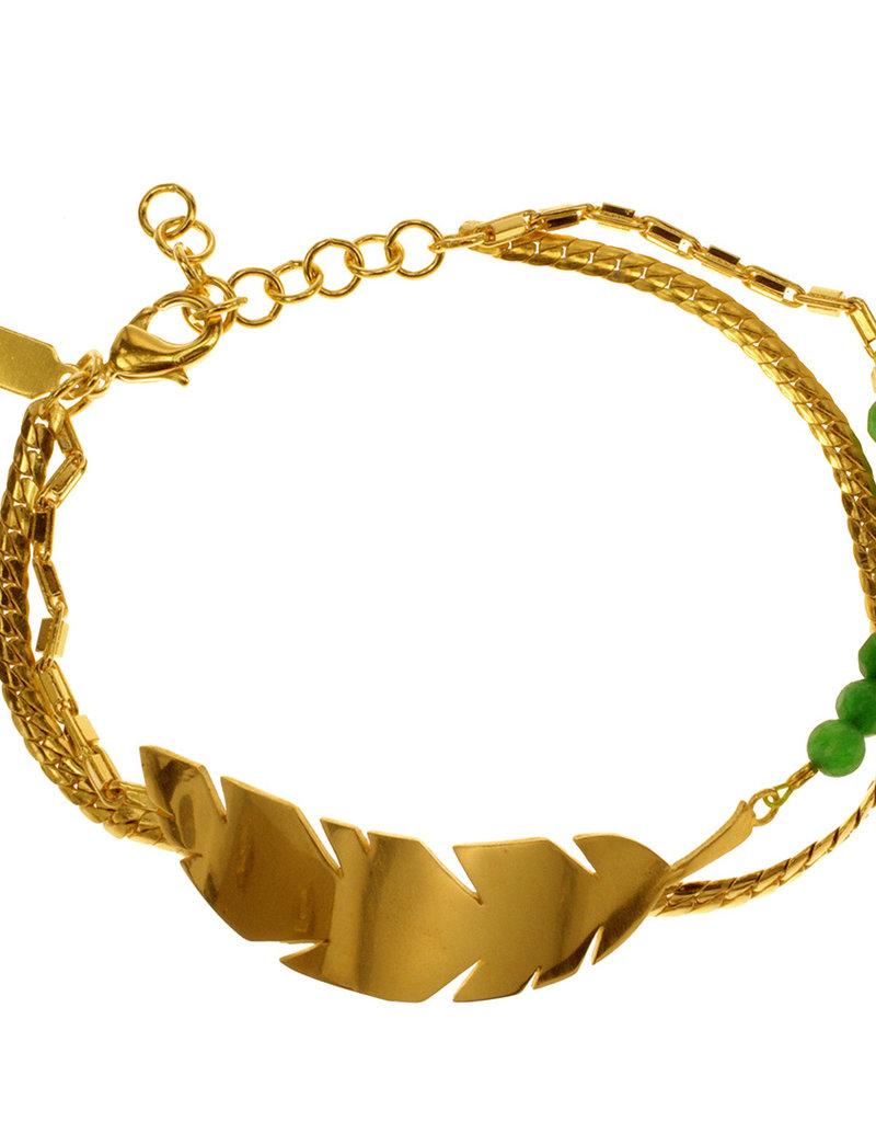 Rebels & Icons Bracelet banana leaf