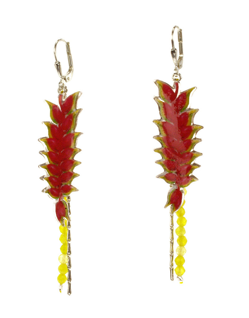 Rebels & Icons Oorbellen heliconia