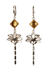 Rebels & Icons Earrings lily & citrine