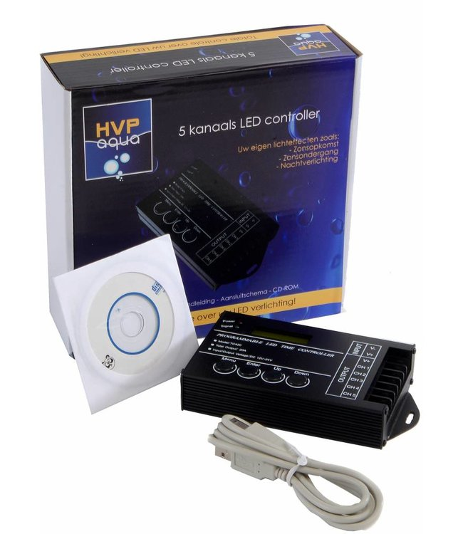 HVP aqua 5 channel controller Programmable