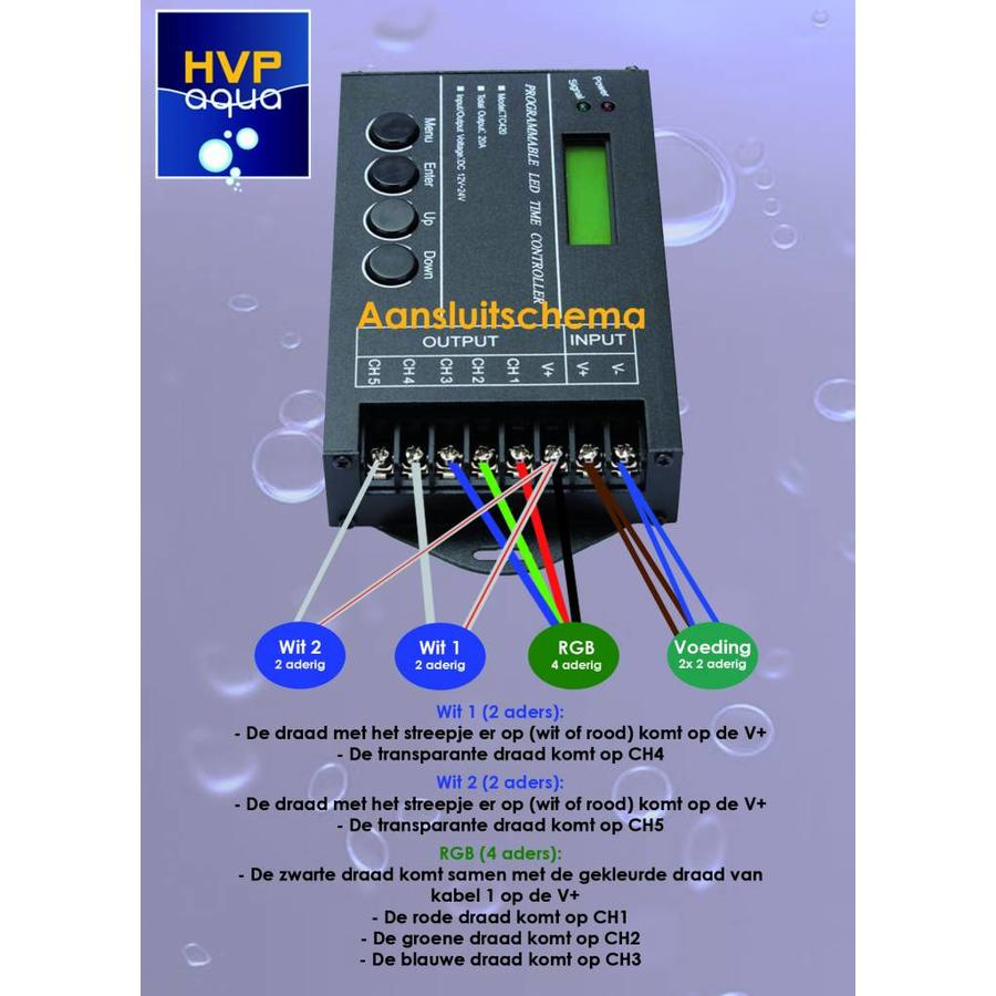 5 channel controller Programmable Aquarium LED-3