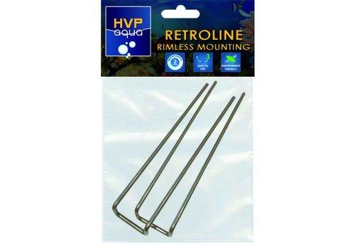 Rimless mounting brackets for RetroLINE