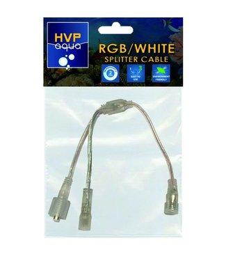 HVP aqua Splitter kabel Wit en RGB