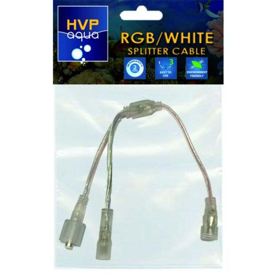 Splitter kabel Wit  en RGB-1