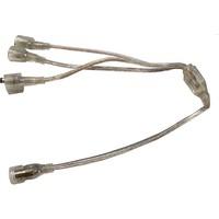 3 way splitter kabel  power adapter