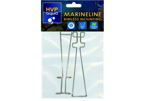 Rimless mounting brackets for MarineLINE