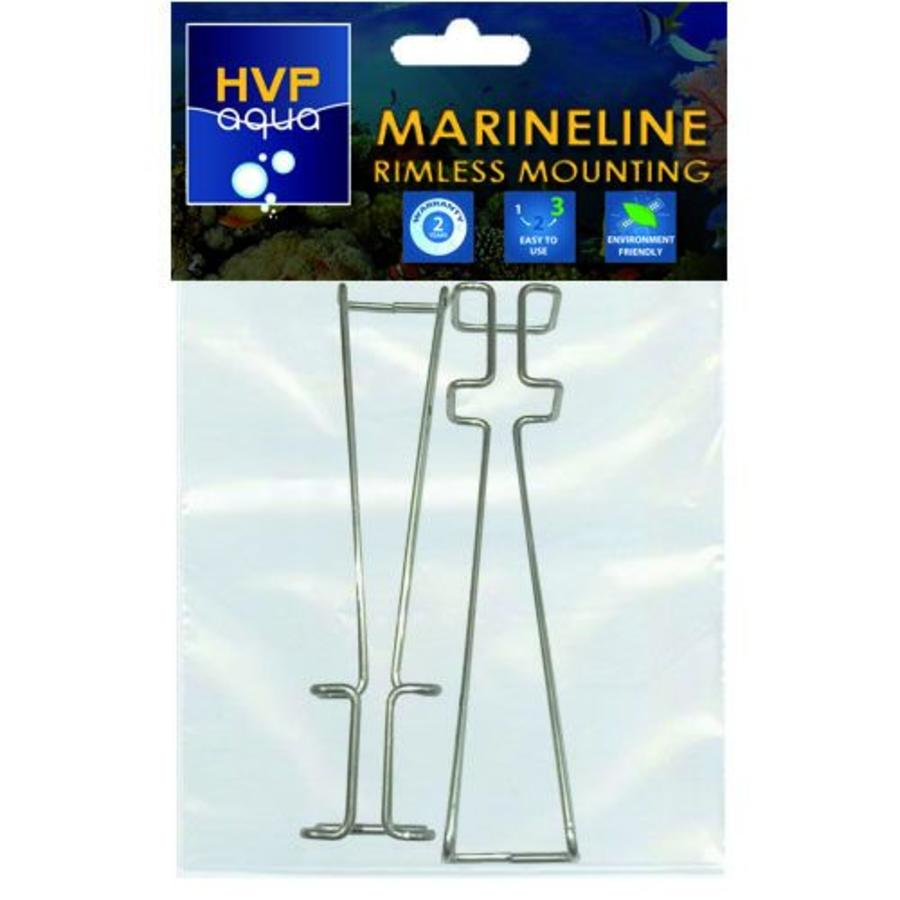 Rimless mounting brackets for MarineLINE-1