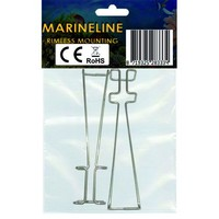 thumb-Rimless mounting brackets for MarineLINE-2