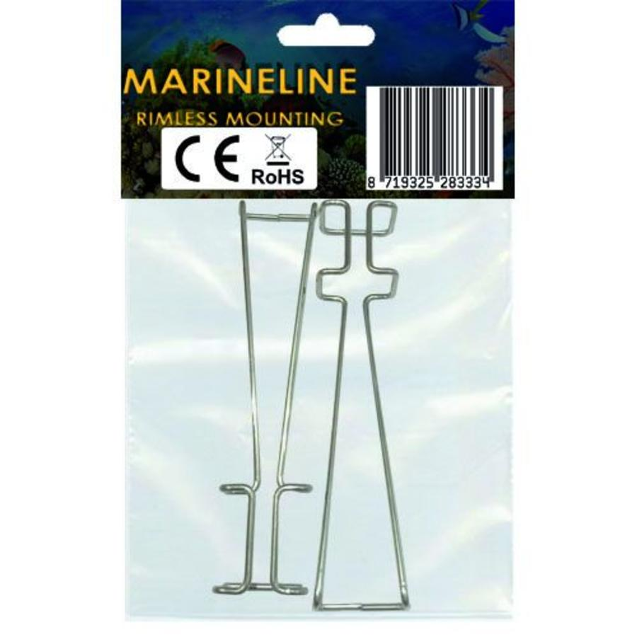 Rimless mounting brackets for MarineLINE-2