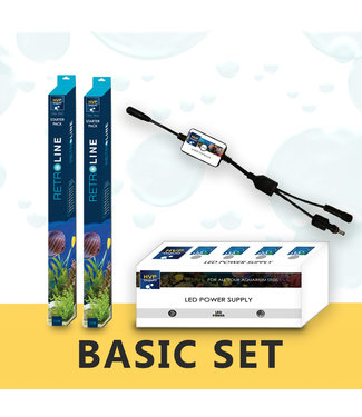 HVP aqua 60CM Aquarium LED set BASIC
