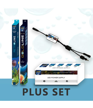 HVP aqua 80CM Aquarium LED set PLUS