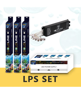 HVP aqua 200CM aquarium LPS / leder koralen LED set