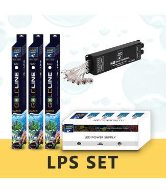 HVP aqua 120CM aquarium LPS / leder koralen LED set
