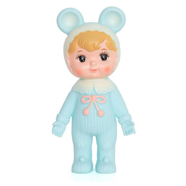 Woodland Doll (blonde turquoise)