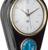 "Pt (Present Time) Wandklok ""Retro"" met timer (black)"