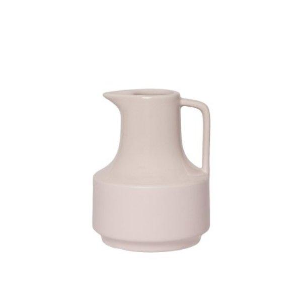 """Kannetje """"Fifty"""" keramiek (roze) 0,5 ltr."""