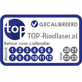 Calibratie Rioollaser