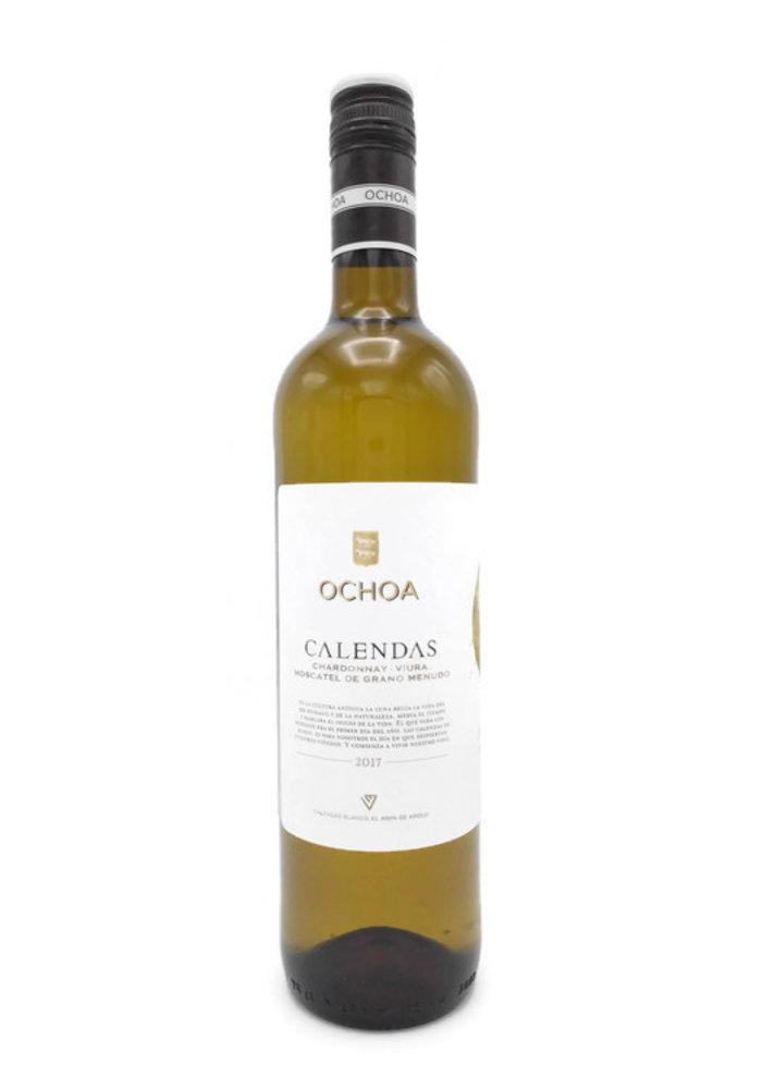 Ochoa Calendas blanco  Viura - Chardonnay 2019