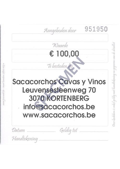 Divers Cadeaubon / Chèque-cadeau €100