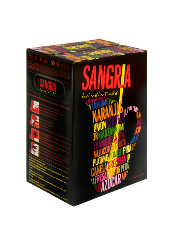 Sangria Bag In Box (5L) Sac 13° rood